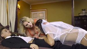 Raw fucking with large boobs mature