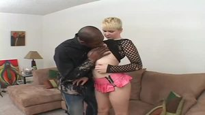 Interracial banging XXX escorted by big butt raw Claudia Downs