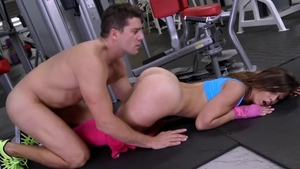 Big butt Kelsi Monroe yoga