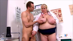Young June Kelly doctor cock sucking scene