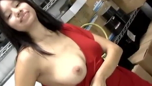 Hairy huge tits asian amateur