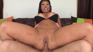 Cock sucking along with busty mature