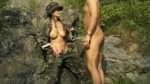 Sucking cock along with european wife