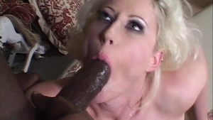 Big boobs blonde haired anal interracial