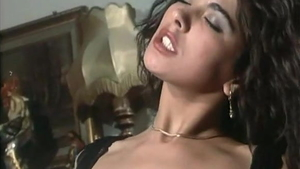 Group sex accompanied by hairy italian in stockings