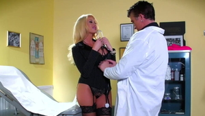 Large boobs mature rough dick sucking in the hospital