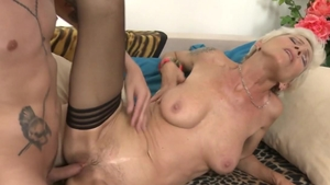 Loud sex starring young mature