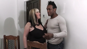 Large boobs blonde haired cheating