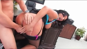 Vannah Sterling in stockings fucked all the way