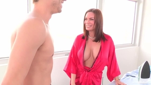 Crossdresser Abby Cross threesome HD