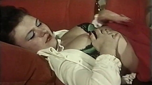 Hairy in lingerie sex toys vintage