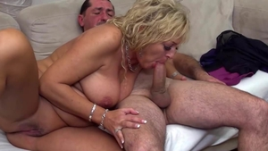 Sloppy fucking escorted by granny