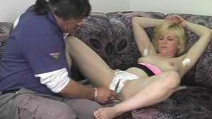 Softcore hard fucking together with czech MILF