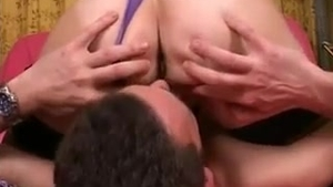 Anal sex with young french MILF