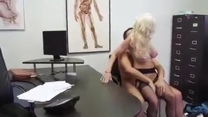 Hard sloppy fucking alongside large boobs blonde hair