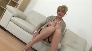 Hard pounding in the company of huge boobs british