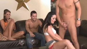 Hard slamming with Tori Black Sophie Dee
