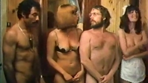 Vintage hairy french group sex