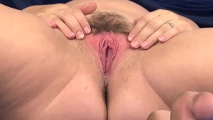 Rough nailing with pregnant brunette