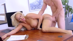Big boobs creampied cock sucking in HD