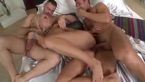 Blonde really likes rough nailing