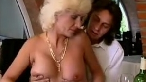 Loud sex along with big tits MILF