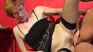 European pornstar need gets rough nailing in stockings