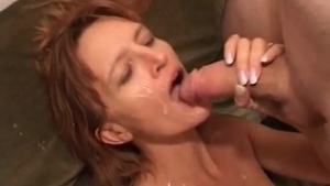 Slamming hard together with piercing MILF