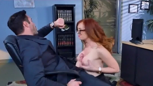 Big tits cougar cheating after interview
