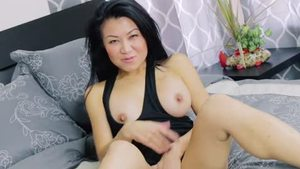 Rough nailing along with super hot asian stepmom Jackie Lin