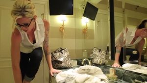 Inked transsexual Morgan Bailey lusts plowing hard