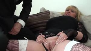 Bald granny british Alisha Rydes domination squirting