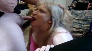 Raw deepthroat escorted by housewife