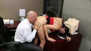 Plowing hard escorted by busty brunette Missy Martinez