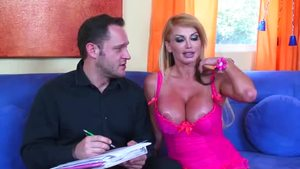Mandy Bright in company with Taylor Wane pussy fuck