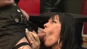 Shemale Joanna Jet cock sucking