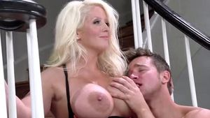 Alura Jenson is so very huge tits stepmom