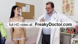 Pussy fuck in clinic petite czech Lucianna Karel