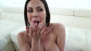 Lustful Kendra Lust doggy fuck getting facial