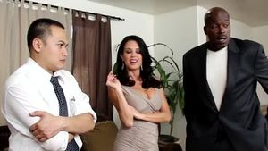 Rough pussy sex together with busty housewife Veronica Avluv