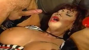 Busty Gina Colany cumshot video