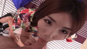 POV loud sex escorted by thai ladyboy China Doll