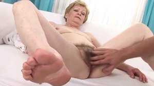 Granny raw hard sex