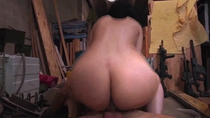Petite reality cock sucking in the store HD