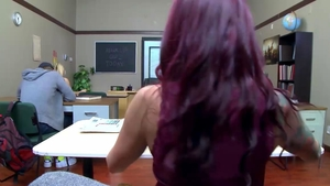 Teacher Monique Alexander feels the need for sex in HD
