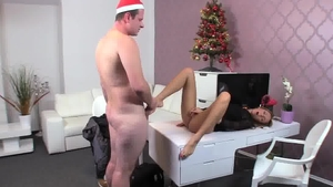 Busty Gina Devine wishes nailed rough