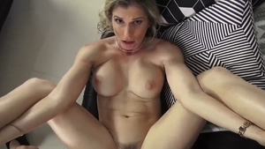 Hard pounding in company with mature Cory Chase