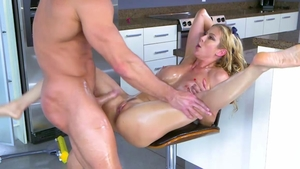 Raw sex in company with super hot stepmom Alexis Fawx