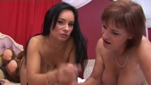 Mature King Cock accompanied by tattooed Wendy Taylor