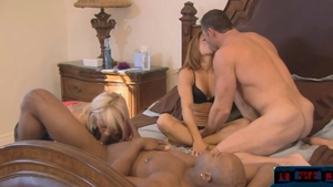 Orgy along with hunk